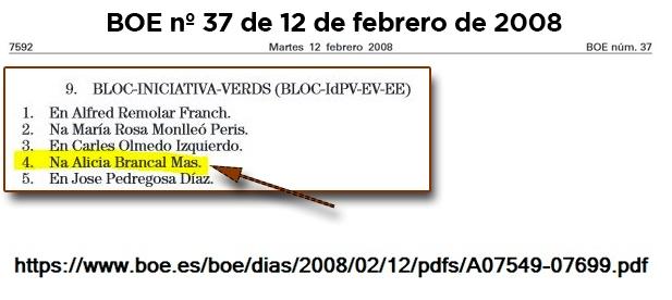 Según parece, la financiación en B habitaba en el PSPV-PSOE y BLOC cuando alcaldesa y vicealcaldesa ya integraban las candidaturas de sus respectivos partidos