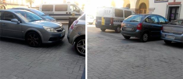 """Borras: """"Una excelente medida sería dejar de ocupar una zona peatonal, como es la plaza del Ayuntamiento, con los vehículos privados de cada uno de los concejales"""""""