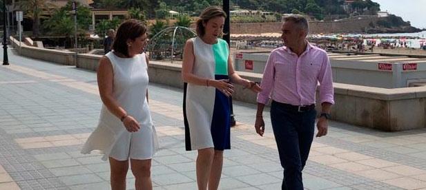 Cuca Gamarra participó el pasado año en la escuela de verano que se celebró en Benicàssim