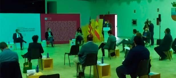 El Ayuntamiento de Moncofa ha ejercido de anfitrión en la Cumbre de Alcaldes de la Plana Baixa celebrada esta tarde
