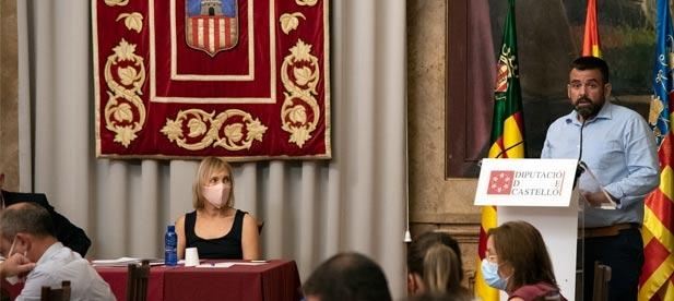 """David Vicente, diputado provincial del PP, lamenta que el PSOE """"piense antes en el sillón de la presidencia que en un sector que además de generar empleo, es tradición y cultura"""""""