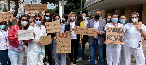 """Toledo: """"Por un lado el socialista Ximo Puig nos pide responsabilidad a los ciudadanos mientras deja en la calle a los sanitarios que son el muro de contención de esta pandemia"""""""
