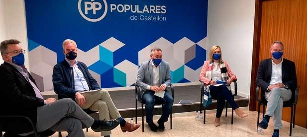 """Barrachina: """"Los PGE son un castigo para Castellón y para el futuro de los castellonenses en un momento tan delicado"""""""