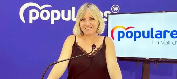 """Vicente-Ruiz pide a la alcaldesa de la localidad, la socialista Tania Baños, que """"informe a los vecinos de manera veraz sobre la sentencia del caso Vallpala"""""""