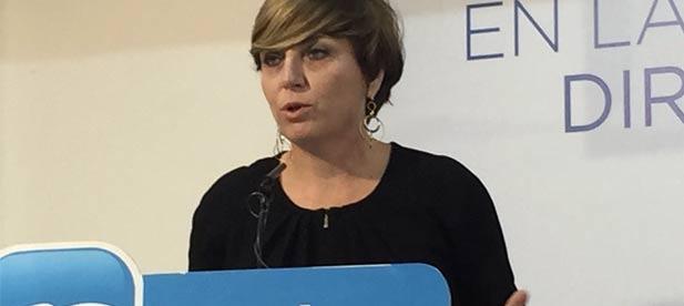 """La secretaria general del PPCS, Elena Vicente-Ruiz, acusa al PSPV de """"multiplicar el gasto en nóminas a costa de los pacientes que esperan tratamientos vitales que no llegan"""""""