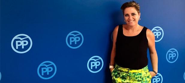 """Elena Vicente-Ruiz, secretaria general del PPCS, exige """"la mayor inversión para blindar la sanidad frente a una izquierda que solo piensa en saquear para financiar a los suyos"""""""