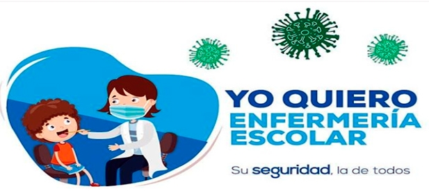 """Vicente-Ruiz, cree que """"la enfermería escolar es clave para aplicar con éxito los protocolos del Covid-19 y dar tranquilidad a las familias"""""""