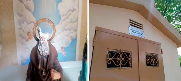 """Toledo: """"La ermita de Nuestra Señora de la Asunción, hoy sigue con las ventanas rotas, sin la cruz que la identifica y sin la imagen de la Virgen que sufrió daños importantes tras los últimos actos vandálicos y todavía no ha sido restaurada"""""""
