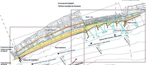 """Bañuls: """"La playa de Almenara siempre ha estado en la hoja de ruta y en la lista de prioridades del Gobierno del PP"""""""