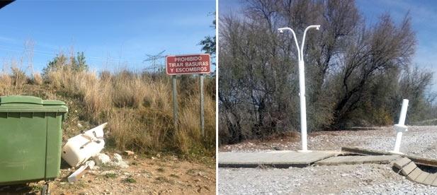 Este olvido del bipartito de la zona de Torre La Sal se hace extensible también al aspecto de la playa y del entorno