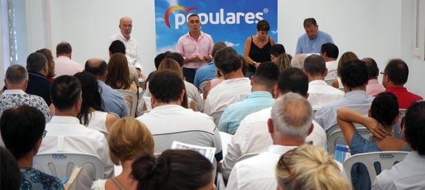 """Barrachina: """"Las ideas del PP son las que hacen que la provincia avance"""""""
