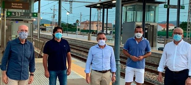 Los populares denuncian los constantes castigos del PSOE a la provincia tras eliminar ocho trenes de ida y ocho trenes de vuelta cada día de Vinaròs a Castellón