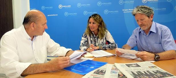 """Feliu: """"Es lamentable que después de la inversión de más de un millón de euros falle el sistema a la primera caída de cuatro gotas"""""""