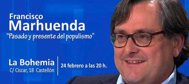 El director de La Razón viene a Castellón invitado por la Junta Local del PP de Castellón, Francisco Marhuenda
