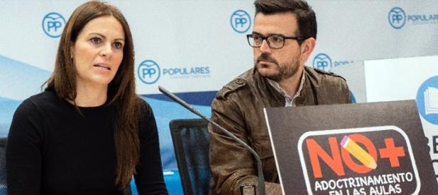 """Jaume Bronchud y Beatriz Gascó aseguran que """"existe un modelo separatista planteado por la izquierda que pretende imponer un modelo único"""""""