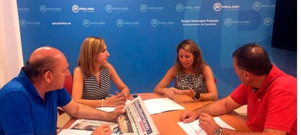 """Carrasco: """"Los problemas y las preocupaciones de los castellonenses no tienen color político, y eso es algo que Compromís y PSOE aún no han entendido"""""""