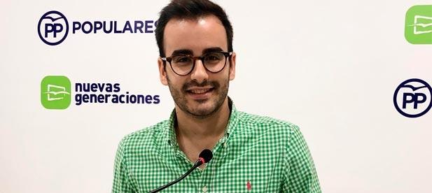 Herminio Serra, secretario general de NNGG, reclama soluciones a la brecha digital, evaluaciones adaptadas y una prueba de acceso a la universidad única para toda España
