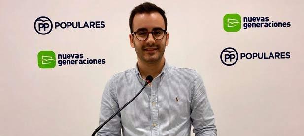 """Herminio Serra, secretario general de NNGG, celebra que los jóvenes """"alcen la voz contra la izquierda y exige a PSOE y Compromís que trabajen para asegurar el inicio de curso"""""""