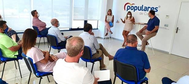 La presidenta del PPCS preside la constitución de la comisión interparlamentaria del Partido Popular con la vista puesta en la próxima negociación de los presupuestos y en la defensa de los temas que preocupan a los castellonenses.