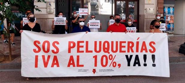 La propuesta del PP recoge las demandas de peluquerías y salones de belleza con los que se ha reunido la presidenta del PPCS, Marta Barrachina.