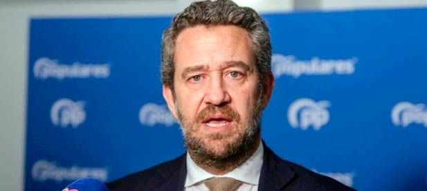 El vicesecretario nacional de Participación del PP, Jaime de Olano