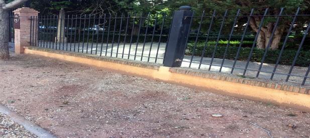 Dos semanas llevan ya los vecinos de Nules sin poder acceder al Jardín Botánico por decisión del cuatripartito del CCD, PSPV, Més e IPN
