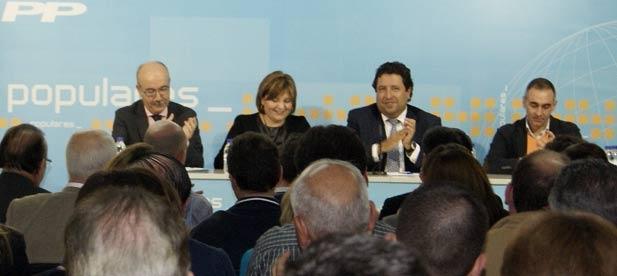 """El presidente de los Populares de Castellón destaca que en estos meses """"uno de cada tres afiliados ha participado de forma activa en la vida del partido"""""""