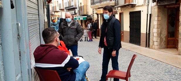 """Para Jesús Lecha, portavoz del PP, """"la población sufre las consecuencias de una gestión dramática de la pandemia en la que ha habido dinero para los Puig no para los vecinos"""""""