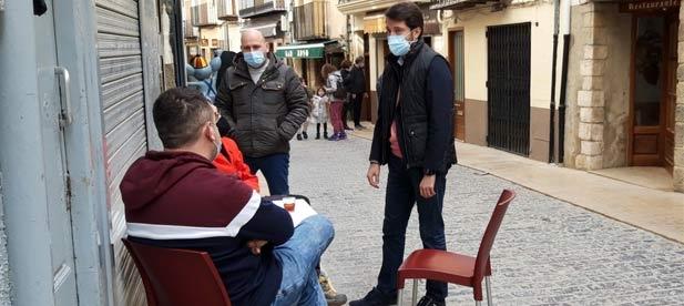 """Lecha: """"Estamos aquí para trabajar por nuestros ciudadanos, poner foco a sus demandas y altavoz a las protestas que el PSOE intenta silenciar"""""""