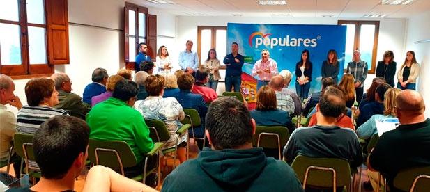 """Barrachina: """"Contamos con las mejores personas y con las mejores ideas; las que han sacado en dos ocasiones a España de la ruina del PSOE """""""