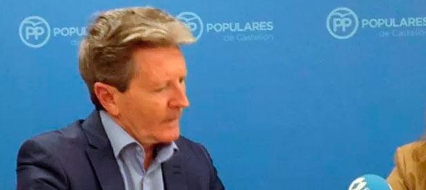 """Macián: """"Si no se fían de PSOE y Compromís sus propios socios, """"¿cómo se van a fiar los ciudadanos?"""""""