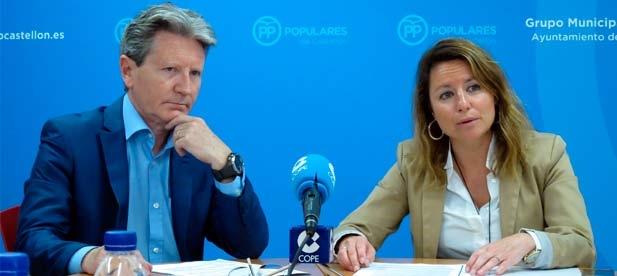 """Carrasco: """"El Caso Lafuente vuelve a poner en el foco el dedazo de la alcaldesa y la crisis más grave del Pacte del Frau que ha ido desencadenando sus enfrentamientos hasta el día de hoy"""""""