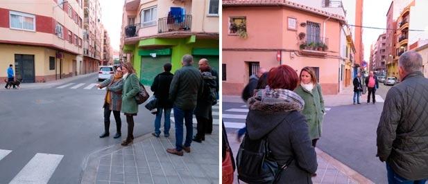 """Carrasco: """"Es vergonzoso que una remodelación que ha tenido sobrecostes, pagados con los Presupuestos Participativos, que iba ser el referente urbanístico de Castellón acabe dejando con menos servicios y menos seguridad al barrio"""""""