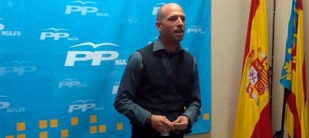 """García: """"Ofrecemos al PSPV y a sus socios colaboración para trabajar. Pero para hacerlo con realidades, con obras palpables, no para anunciar inversiones que luego no llegan"""""""