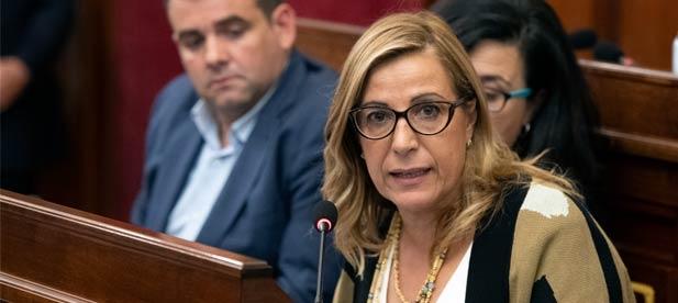 """Susana Marqués: """"Queremos que nadie se quede fuera de las ayudas turísticas ante el reto que supone esta pandemia para el sector"""""""
