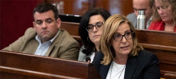"""Susana Marqués: """"Es importante trabajar con lealtad institucional y de forma coordinada por parte de todas las administraciones para acabar con la problemática"""""""