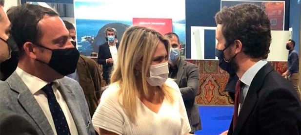 """La presidenta provincial reivindica la rebaja del IVA para el turismo, PCR gratuitos y """"el despegue del aeropuerto para que la provincia lidere en mercados internacionales"""""""