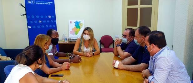 """Marta Barrachina, asegura que """"el PP va a poner en marcha """"todos los mecanismos que tengamos a nuestro alcance para que la sociedad castellonense, la gente de la calle, tome conciencia que los cubanos están viviendo bajo un régimen opresor"""""""