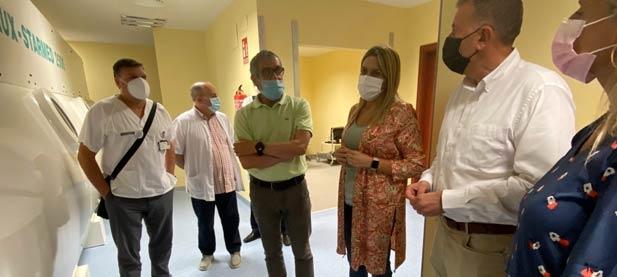 """Marta Barrachina, líder del PP en la provincia, reivindica el futuro que el PSOE destruye y desmantela. """"Hay que contratar sanitarios, no despedirlos y cerrar servicios vitales"""""""