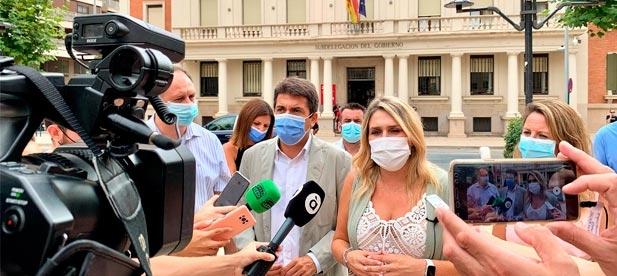 """Marta Barrachina: """"Pedro Sánchez lleva meses prometiéndonos el maná en forma de millones, pero sobre el papel nos queda claro que para el año 2022 nos condena a padecer más de lo mismo: ninguneo en materia de inversiones"""""""