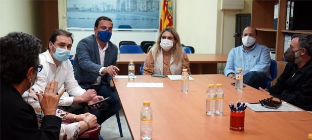 """La presidenta provincial del PPCS reivindica """"futuro e inversión en sanidad"""" frente al presidente del Consell, Ximo Puig, """"que no tiene límites para gastar en la contratación de asesores"""""""