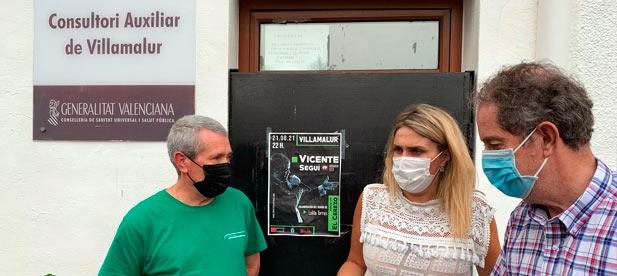 El alcalde, Juan Bautista Gimeno, se entrevista con la diputada y presidenta del PPCS, Marta Barrachina, para defender los recursos vitales que el PSOE desmantela