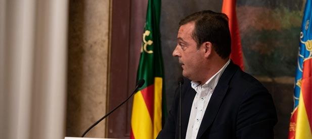 """Andrés Martínez, diputado provincial del PP, considera """"vergonzoso"""" perder el enlace con """"el principal mercado emisor de turismo internacional que es Francia"""""""
