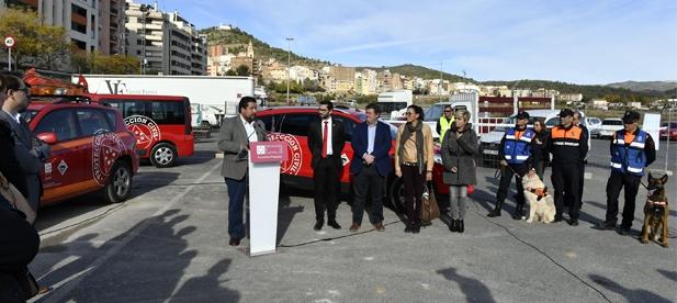 Mallol ha celebrado hoy el compromiso del Gobierno Provincial con L' Alcora con el arranque de las obras del Parque de Protección Civil que convertirá al municipio en centro de referencia