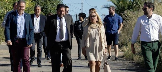 El compromiso de la Diputación de Castellón con la mejora de la seguridad vial en Torreblanca es patente en las continuas actuaciones que ha llevado a cabo el Gobierno Provincial en el vial a Torrenostra