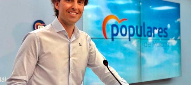 Pablo Montesinos en rueda de prensa desde Málaga