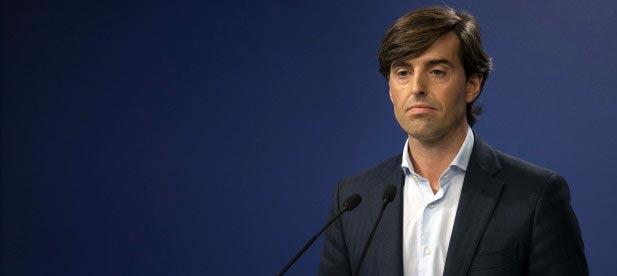 El vicesecretario de Comunicación, Pablo Montesinos, atiende a los medios de comunicación