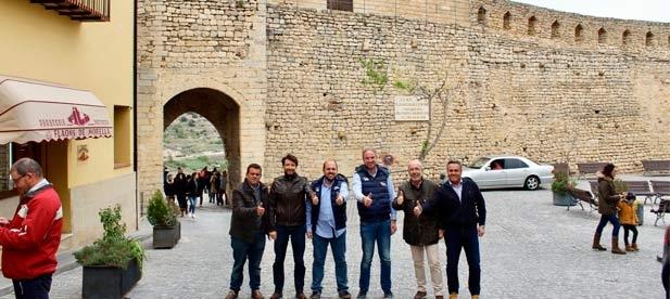 El Partido Popular organiza rutas por el interior de la provincia como ejemplo de la defensa de las necesidades de Castellón