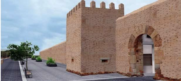 El poblado amurallado de Mascarell sigue esperando la llegada de inversiones que garantizó su alcalde.
