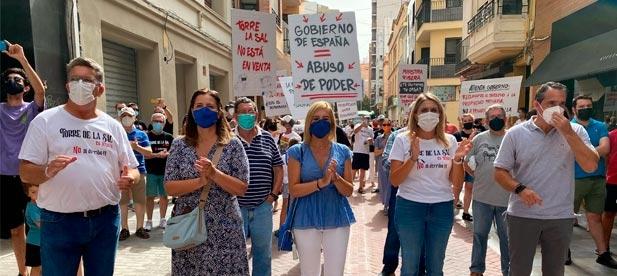 """Vicente Martínez Mus, senador del PPCS, exige la inversión que """"proteja nuestras costas con inversión porque la única acción del PSOE ha sido la de confiscar Torre la Sal"""""""